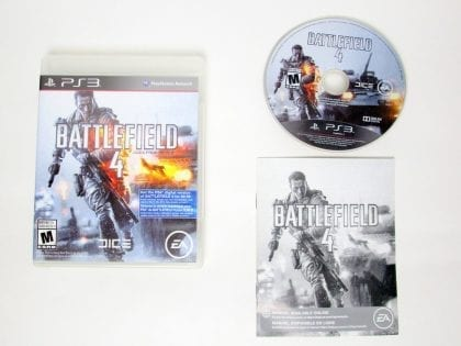 Battlefield 4 game for Sony PlayStation 3 -Complete