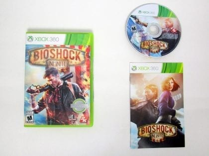 BioShock Infinite game for Microsoft Xbox 360 -Complete