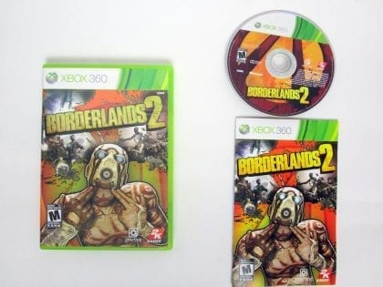 Borderlands 2 game for Microsoft Xbox 360 -Complete