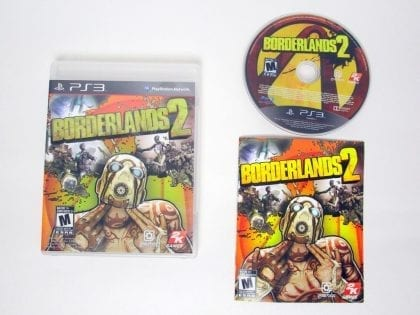 Borderlands 2 game for Sony PlayStation 3 -Complete