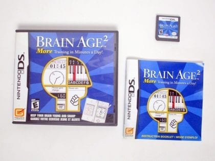 Brain Age 2 game for Nintendo DS -Complete
