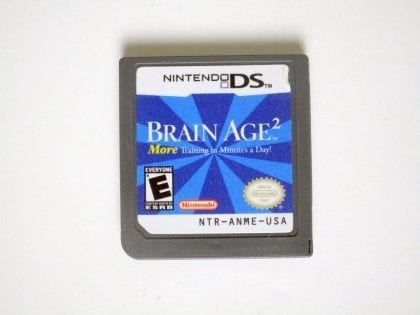 Brain Age 2 game for Nintendo DS -Loose