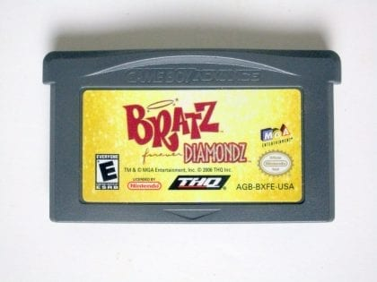 Bratz Forever Diamondz game for Nintendo Game Boy Advance -Loose