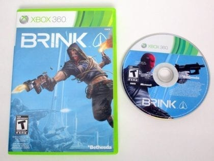 Brink game for Microsoft Xbox 360 -Game & Case