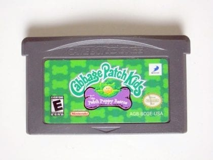 Cabbage Patch Kids Patch Puppy Rescue game for Nintendo Game Boy Advance -Loose