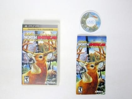 Cabela's North American Adventures 2011 game for Sony PSP -Complete