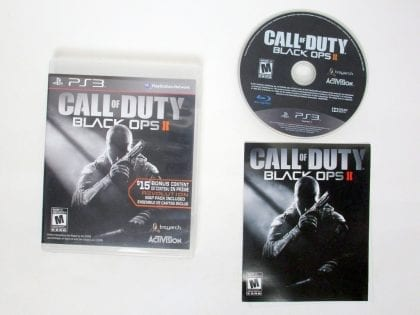 Call of Duty: Black Ops II game for Sony PlayStation 3 -Complete