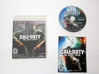 Call of Duty: Black Ops game for Sony PlayStation 3 -Complete