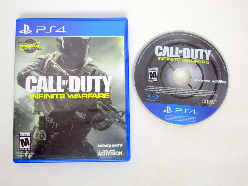Call Of Duty Infinite Warfare Game For Sony Playstation 4 The Ps4 Case