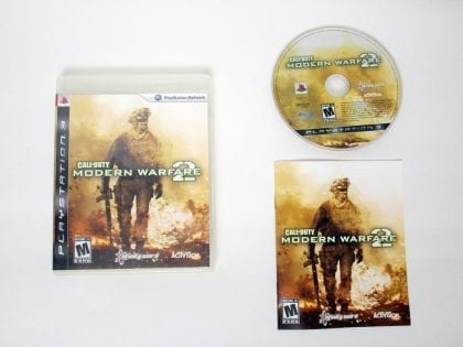 Call of Duty: Modern Warfare 2 game for Sony PlayStation 3 -Complete