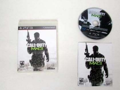 Call of Duty: Modern Warfare 3 game for Sony PlayStation 3 -Complete