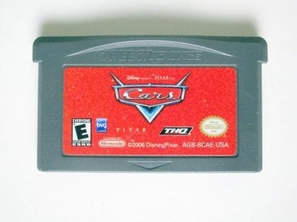Cars game for Nintendo Game Boy Advance -Loose