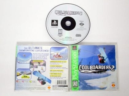 Cool Boarders 2 game for Sony PlayStation 1 -Complete