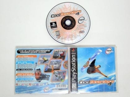 Cool Boarders 4 game for Sony PlayStation 1 -Complete