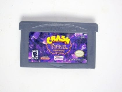Crash Bandicoot Purple game for Nintendo Game Boy Advance -Loose