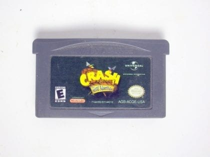 Crash Bandicoot the Huge Adventure game for Nintendo Game Boy Advance -Loose