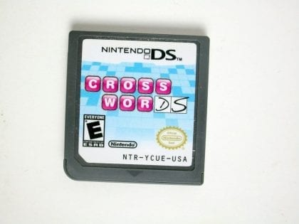 Crosswords DS game for Nintendo DS -Loose