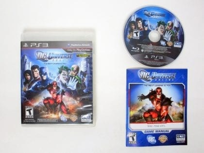 DC Universe Online game for Sony PlayStation 3 -Complete
