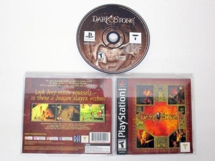 Darkstone game for Sony PlayStation 1 -Complete