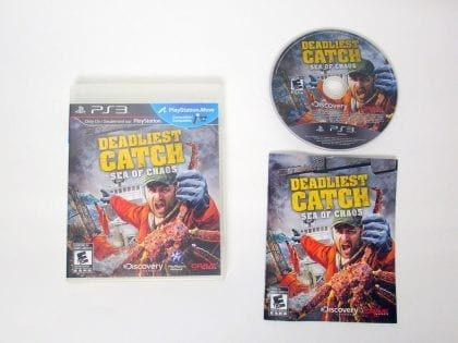 Deadliest Catch: Sea of Chaos game for Sony PlayStation 3 -Complete
