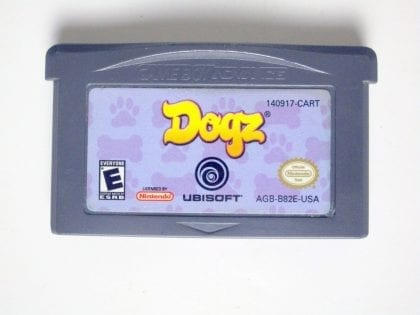 Dogz game for Nintendo Game Boy Advance -Loose