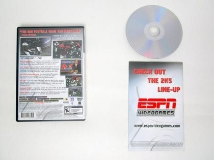 ESPN Football 2005 game for Sony PlayStation 2 | The Game Guy