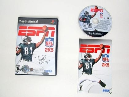 ESPN Football 2005 game for Sony PlayStation 2 -Complete