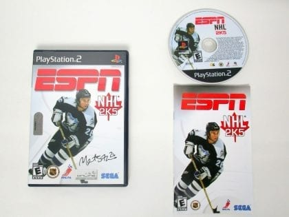 ESPN Hockey 2005 game for Sony PlayStation 2 -Complete