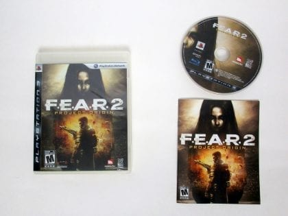 F.E.A.R. 2 Project Origin game for Sony PlayStation 3 -Complete