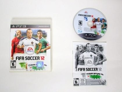 FIFA Soccer 12 game for Sony PlayStation 3 -Complete