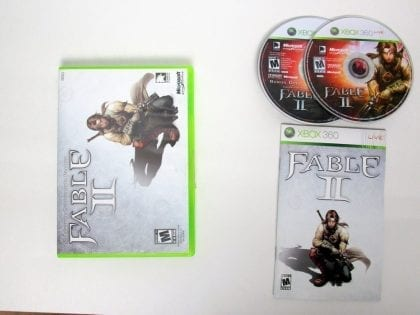 Fable II Limited Edition game for Microsoft Xbox 360 -Complete