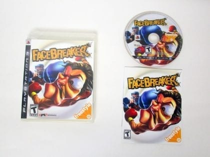 FaceBreaker game for Sony PlayStation 3 -Complete