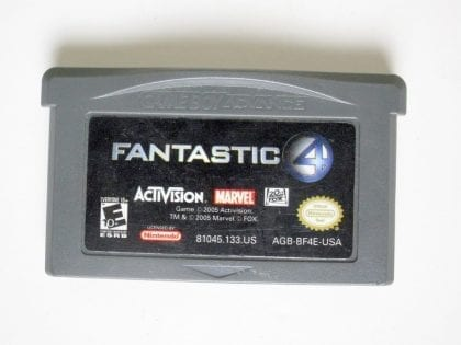 Fantastic 4 game for Nintendo Game Boy Advance -Loose