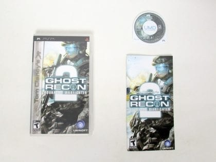 Ghost Recon Advanced Warfighter 2 game for Sony PSP -Complete