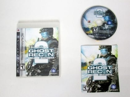 Ghost Recon Advanced Warfighter 2 game for Sony PlayStation 3 -Complete