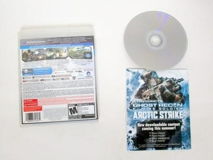 Ghost Recon: Future Soldier game for Sony PlayStation 3 | The Game Guy