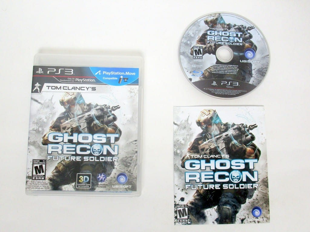 Ghost Recon: Future Soldier game for Sony PlayStation 3 -Complete