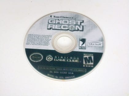 Ghost Recon game for Nintendo GameCube -Loose