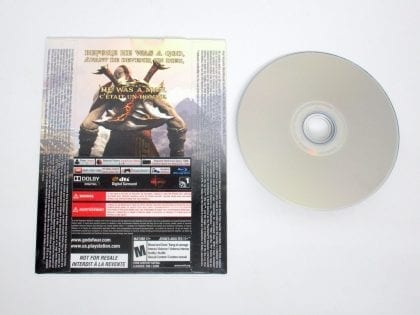 God of War III game for Sony PlayStation 3   The Game Guy