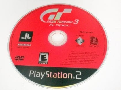 Gran Turismo 3 game for Sony PlayStation 2 -Loose