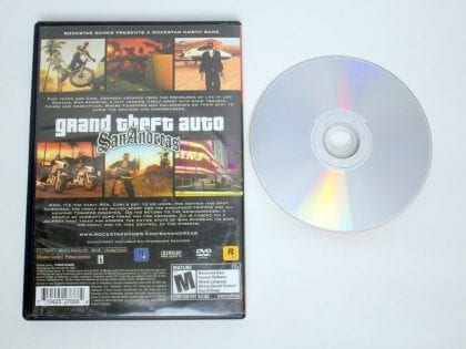 Grand Theft Auto San Andreas Greatest Hits game for Sony PlayStation 2 | The Game Guy