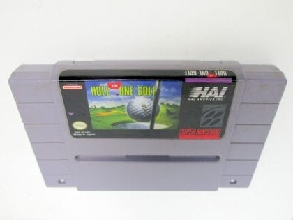 Hal's Hole in One Golf game for Nintendo SNES -Loose