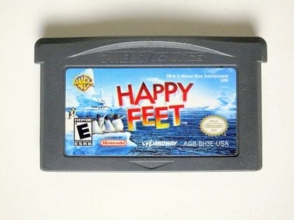 Happy Feet game for Nintendo Game Boy Advance -Loose