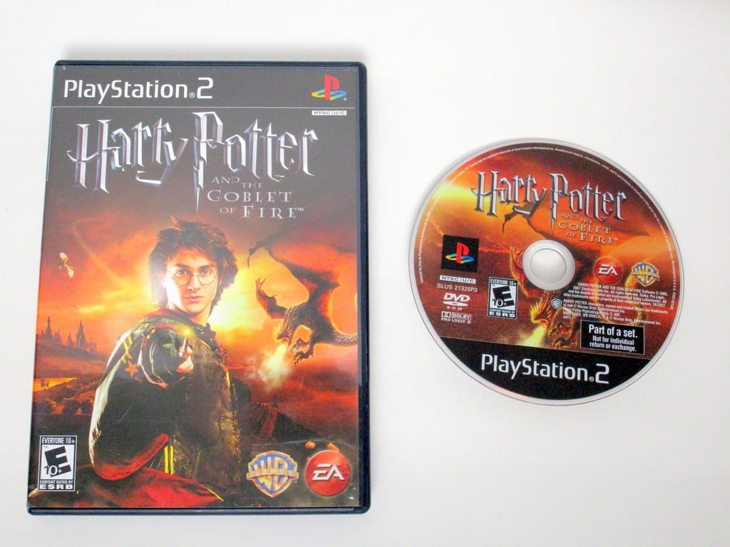 harry potter and the goblet of fire pc game controls