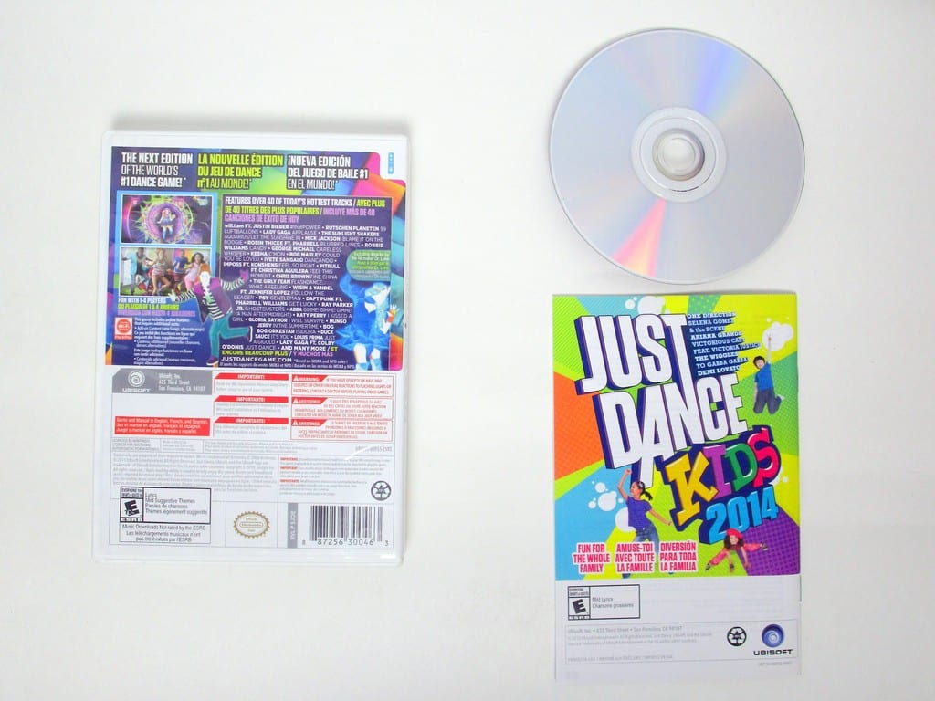 Just Dance 2014 Game For Nintendo Wii The Game Guy Thegameguyca