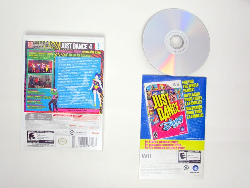 Just Dance 4 Game For Nintendo Wii The Game Guy Thegameguyca