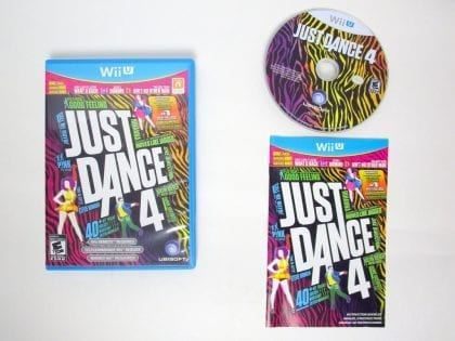 Just Dance 4 game for Nintendo Wii U -Complete