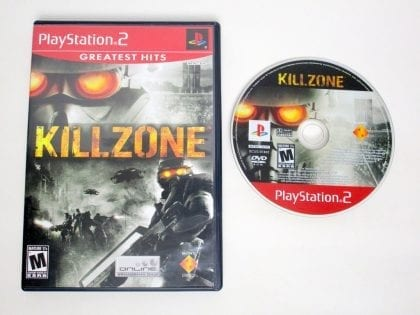Killzone game for Sony PlayStation 2 -Game & Case