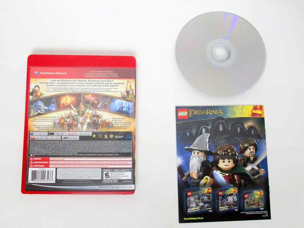 LEGO Lord Of The Rings game for Sony PlayStation 3 | The Game Guy