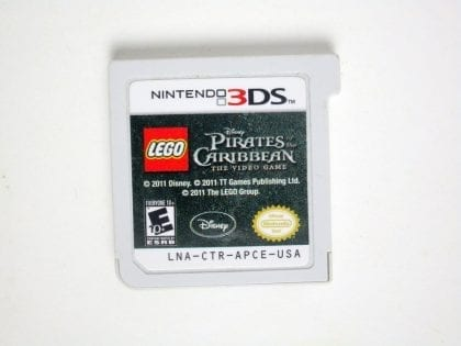 LEGO Pirates of the Caribbean: The Video Game game for Nintendo 3DS -Loose